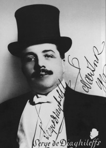 Sergei Diaghilev, photograph by Jan de Sterlecki, 1916