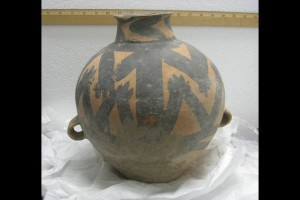 Prehistoric Chinese pot, ca. 5,000 years old