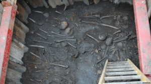 Bedlam skeletons found under Liverpool Street station