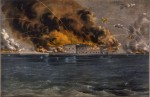 Attack on Fort Sumter, Currier and Ives lithograph