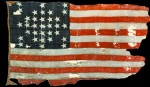 The Fort Sumter storm flag from 1861