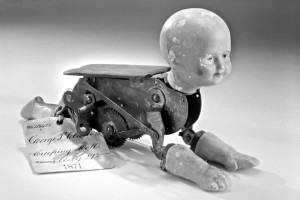 Creeping Baby Doll, 1871 patent model
