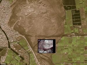 Aerial view of modern San El Hagar