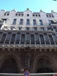 Facade of Gaudí's Palau Güell