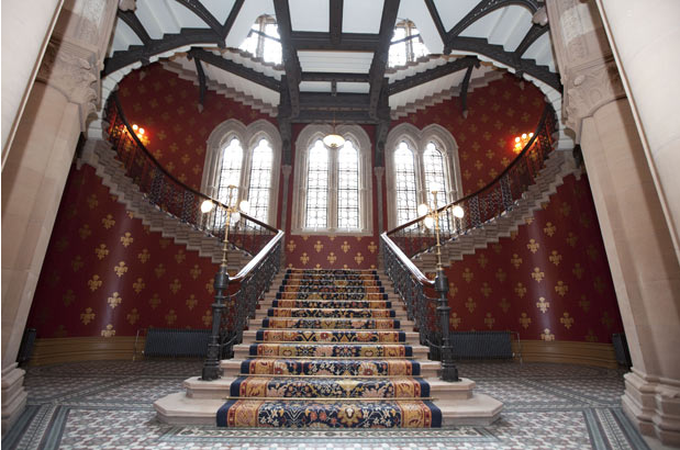 Grand Victorian Staircase