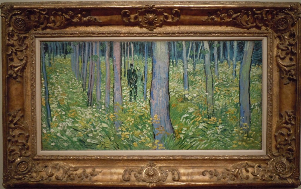 'Undergrowth with Two Figures' by Vincent van Gogh, 1890