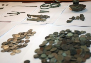 Some of the artifacts returned to Bulgaria