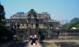 Baphuon temple in 2008