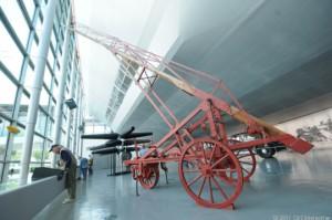 Construction ladder used on the Hindenburg