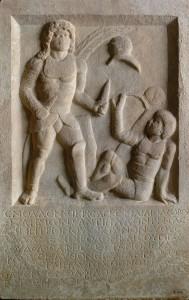 Diodorus' tombstone