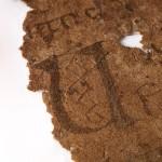 Faddan More Psalter, lettering detail