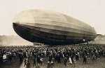 Graf Zeppelin draws a crowd
