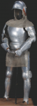 Ingrid Bergman's suit of armor from 'Joan of Arc'