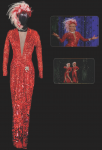 Marilyn Monroe's gown from 'Two Little Girls from Little Rock' number in 'Gentlemen Prefer Blondes'