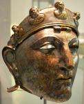 Nijmegen helmet, left profile