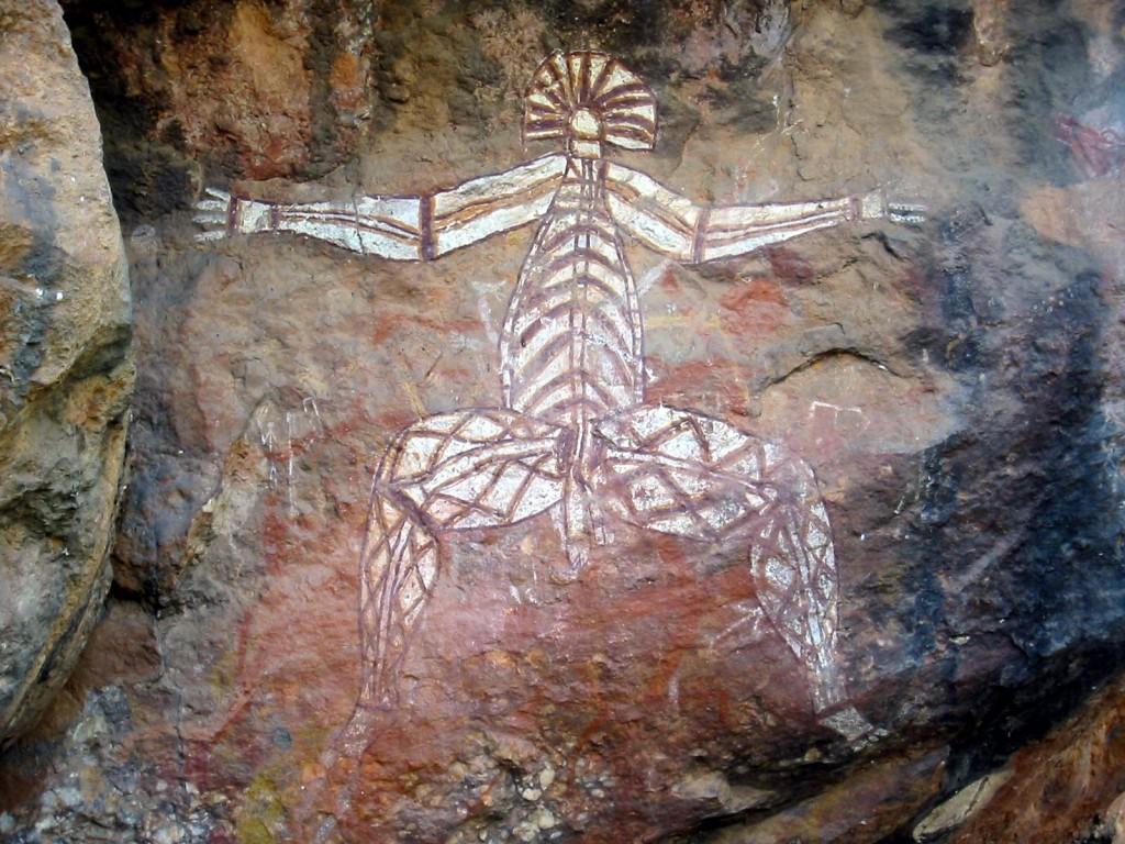 Rock art, Anbangbang Rock Shelter, Kakadu National Park