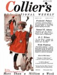 'The Little Model' on the cover of Collier's Weekly