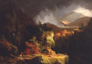 """Gelyna, or a View Near Ticonderoga,"" by Thomas Cole, 1826"