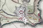 Fort Ticonderoga map, 1758