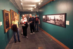 """The Art of War"" exhibit at Fort Ticonderoga"