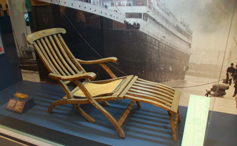 Pin Titanic Deck Chair on Pinterest