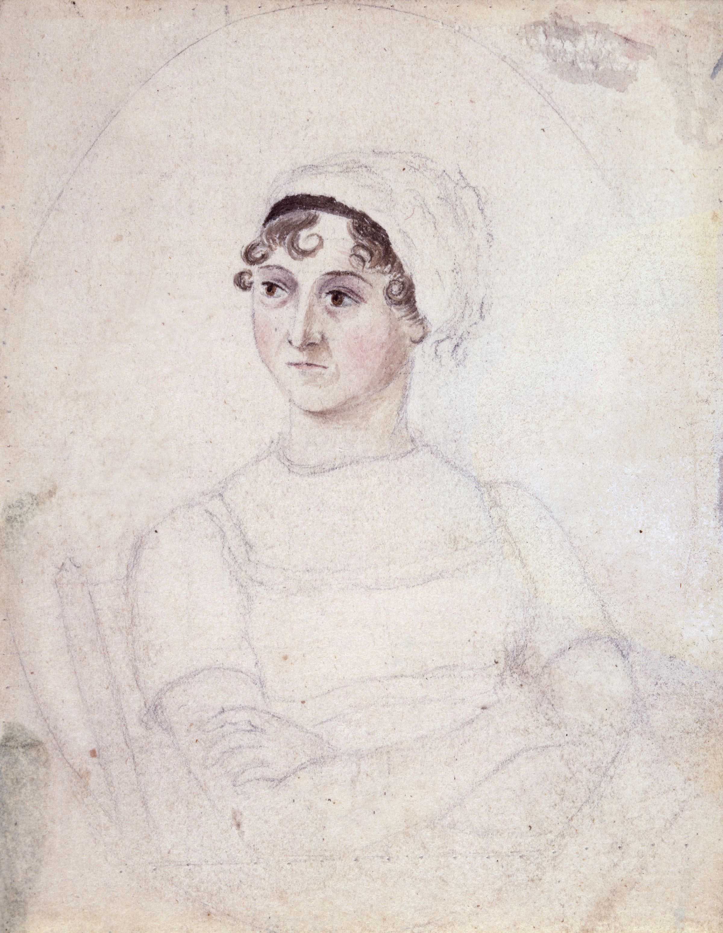 Jane Austen Cassandra Austen sketch 