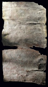 "Lead curse tablet invoking ""Iao,"" Antioch, 4th c. A.D."
