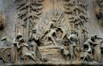 18th century Düsseldorf relief shows witches being burned