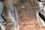 Guanajuato cave paintings, ca. 1st century A.D.