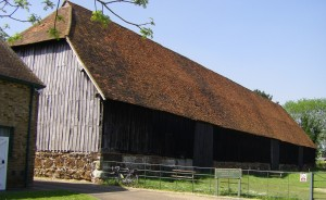 Harmondsworth Barn, built 1426