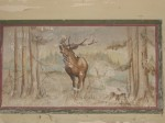 Harperley canteen wall painting, stag