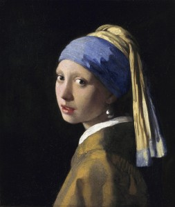 "Johannes Vermeer, ""The Girl with the Pearl Earring,"" 1665"