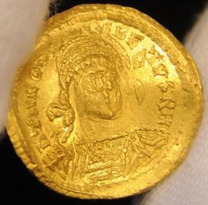 King Theudebert I coin