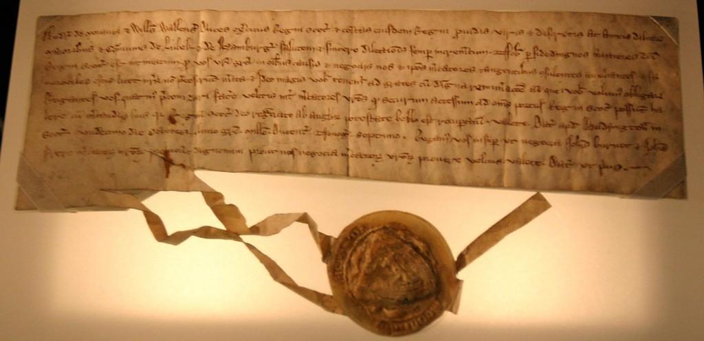 Lübeck Letter, 1297
