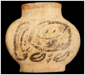 "Mayan ""home of tobacco"" flask that turns out to have actually housed tobacco"