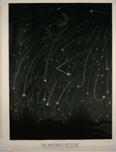 Meteor shower, November 13-14, 1868
