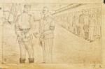 Prisoner steps forward at roll call