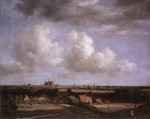 "Jacob van Ruisdael, ""View of Haarlem with Bleaching Grounds"" ca. 1670-1675"