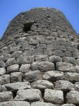 Central tower of the Nuraghe at Saint Antine of Torralba