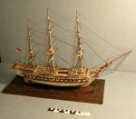 Norman Cross POW ship model