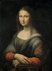 "Prado ""Mona Lisa"" copy before restoration"