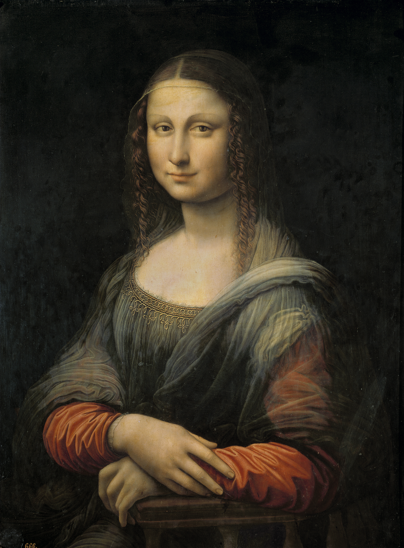 The History Blog » Blog Archive » Earliest copy of Mona ... Da Vinci Mona Lisa