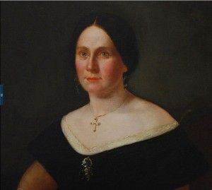 Anonymous lady by anonymous painter underneath the Mary Todd Lincoln alterations