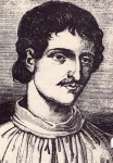 Giordano Bruno, 18th century engraving