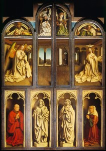 Ghent Altarpiece, closed