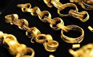 Bronze Age gold spirals
