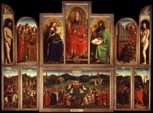 Ghent Altarpiece, open