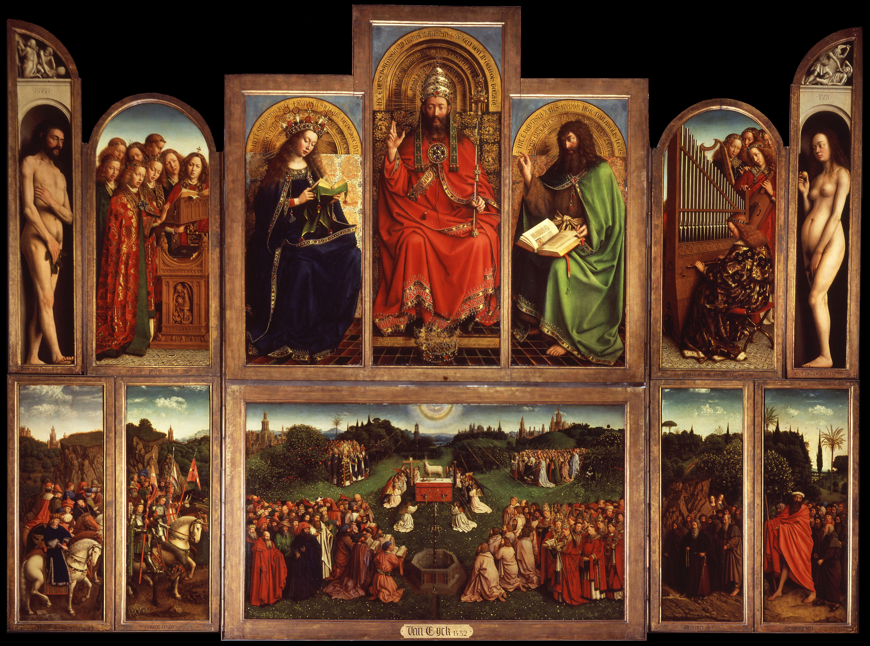 Ghent Altarpiece - most famous painting