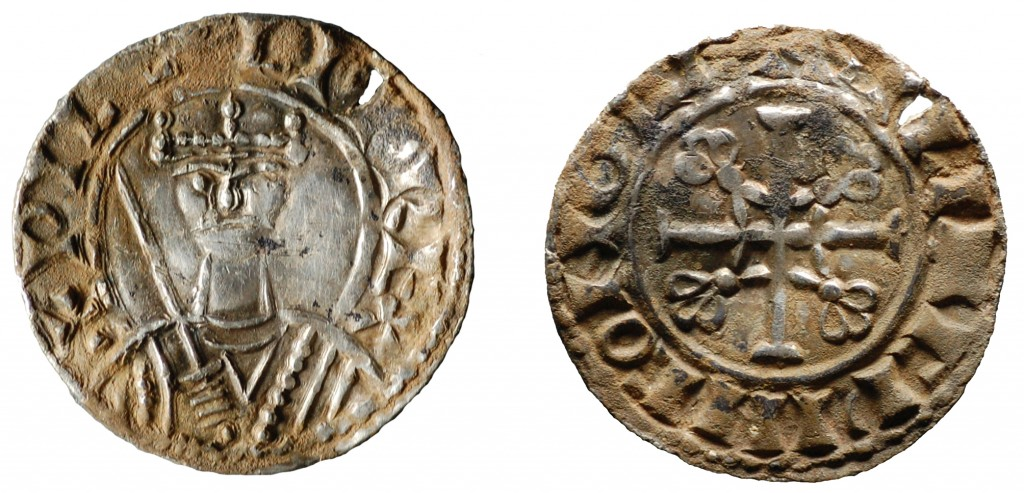 William I silver penny, 1077-1080