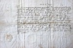 1543 letter from Henry VIII to George Booth, Esq.